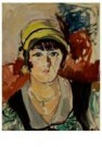 Mondriaan (1872-1944)Mondrian  -  Meisje met gele hoed - Postkaart -  A11376-1