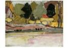 Mondriaan (1872-1944)Mondrian  -  Aan de oever, ca 1912 - Postkaart -  A11377-1