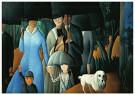 Olga Sacharoff (1889-1967)  -  Promenade, 1923 - Postkaart -  A11381-1