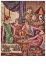 Ella Riemersma (1903-1993)  -  Kalenderblad, october 1925 - Postkaart -  A11391-1