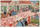 Ella Riemersma (1903-1993)  -  Uit: Van Vier Vroolijke Klantjes uit het Zouteland - Postkaart -  A11398-1