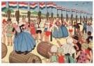 Ella Riemersma (1903-1993)  -  Uit: Van Vier Vroolijke Klantjes uit het Zouteland - Postkaart -  A11399-1