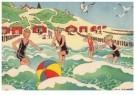 Ella Riemersma (1903-1993)  -  Uit: Van Vier Vroolijke Klantjes uit het Zouteland - Postkaart -  A11400-1