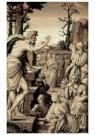 Anoniem,  -  Prediking Johannes de Doper, ca. 1550 - Postkaart -  A11416-1