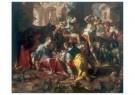 Joachim Wtewael (1566-1638)  -  De aanbidding van de herders, 1598 - Postkaart -  A11418-1
