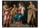 Octiviaen del Ponte (1564-1645 -  De heilige familie met Johannes de Doper - Postkaart -  A11419-1
