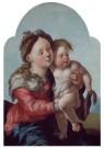 Jan van Scorel (1495-1562)  -  Maria met kind, 1527-1530 - Postkaart -  A11420-1