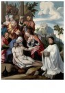 Jan van Scorel (1495-1562)  -  De bewening van Christus, 1535-1540 - Postkaart -  A11425-1
