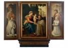 Jan van Scorel (1495-1562)  -  Drieluik van de familie De Visscher van der Gheer - Postkaart -  A11427-1