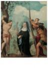 Jan van Scorel (1495-1562)  -  Rechter van het drieluik intocht Christus - Postkaart -  A11439-1