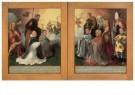 Jan van Scorel (1495-1562)  -  Buitenzijden drieluik intocht Christus - Postkaart -  A11440-1