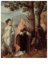 Jan van Scorel (1495-1562)  -  Rechterpaneel drieluik intocht Christus - Postkaart -  A11442-1