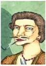 Brecht (1953-2010)  -  De gesnorde vrouw - Postkaart -  A11459-1