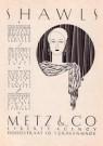 Stefan Schlesinger (1896-1944) -  Advertentie Metz & Co, filiaal Den Haag - Postkaart -  A11550-1