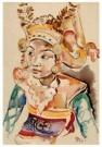 Dolf Breetvelt (1892-1975)  -  Danseres, Bali 1930 - Postkaart -  A11574-1