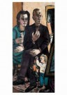 Max Beckmann (1884-1950)  -  Portret van de familie Lutjens, 1944 - Postkaart -  A11603-1