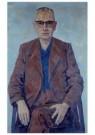 Edgar Fernhout (1912-1974)  -  Portret Simon Vestdijk - Postkaart -  A11633-1