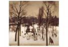 Willem Witsen (1860-1923)  -  Wintergezicht Oosterpark Amsterdam, 1900 - Postkaart -  A11651-1