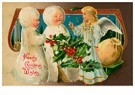 Anonymus  -  Drie kerstengelen - Postkaart -  A116564-1
