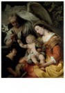 Ferdinand Bol (1616-1680)  -  The Virgin and Child with the infant Saint John - Postkaart -  A11658-1