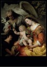 Ferdinand Bol (1616-1680)  -  The Virgin and Child with the informant Saint John - Postkaart -  A11659-1