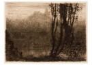 Matthijs Maris (1839-1917)  -  Het betoverde kasteel - Postkaart -  A11771-1