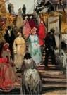 Vincent van Gogh (1853-1890) - De molen Le Blute-fin (detail)1886 - Postkaart - A11788-1