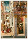 -  The Annunciation, with Saint Emidius, 1486 - Postkaart -  A118134-1