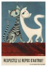 Donald Brun (1909-1999)  -  Respectez le repos d'autrui] - Postkaart -  A11831-1