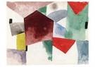 Paul Klee (1879-1940)  -  Weariness in a Spacious City, 1915 - Postkaart -  A118552-1