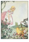 Rie Cramer (1887-1977)  -  Uit: Alice's avonturen in Wonderland - Postkaart -  A11865-1