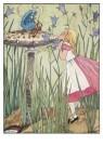 -  Uit: Alice's avonturen in Wonderland - Postkaart -  A11868-1