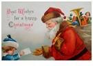 A.N.B.  -  Kerstman neemt een verlanglijstje in ontvangst - Postkaart -  A118843-1