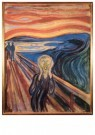 Edvard Munch (1863-1944) - De Schreeuw, 1893 - Postkaart - A11893-1