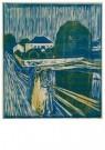 Edvard Munch (1863-1944)  -  Meisjes op een brug, 1918 - Postkaart -  A11903-1