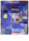 Paul Klee (1879-1940)  -  Moonlight, 1919 - Postkaart -  A119540-1