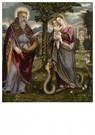 Luca Mombello(1580/20-1588/96) -  Maria Immaculata met God de Vader, ca.1560-1580 - Postkaart -  A11976-1