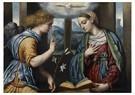 Il Moretto da Brescia1498-1554 -  Annunciatie, 1535-1540 - Postkaart -  A11979-1