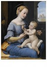 Rafaël Sanzio (1483-1520)  -  Rafaël(atelier), Maria met kind, ca.1520-1530 - Postkaart -  A11987-1