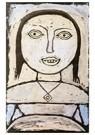 Paul Klee (1879-1940)  -  Sick Girl, 1937 - Postkaart -  A120054-1
