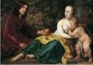 Ferdinand Bol (1616-1680)  -  Portret van Wigbold Slicher en Elisabeth Spiegel - Postkaart -  A12030-1