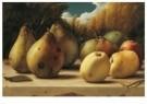 Pyke Koch (1901-1991)  -  Stillevens met appels en peren, 1944-1946 - Postkaart -  A12042-1