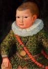 Anoniem,  -  Portret van Rochus Rees op 3-jarige leeftijd - Postkaart -  A12049-1