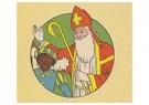 A.N.B.  -  Sinterklaas en zwarte piet - Postkaart -  A120784-1