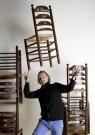 -  Bezeten van stoelen - Postkaart -  A12078-1