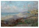 Joseph Posenaer (1876-1935)  -  Langs de zee, einde namiddag, ca. 191516 - Postkaart -  A12096-1