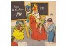 A.N.B.  -  Sinterklaas en zwarte piet op schoolbezoek - Postkaart -  A121027-1