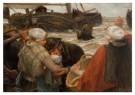 B. J. Blommers (1845-1914)  -  Het afscheid - Postkaart -  A12104-1