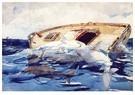 Winslow Homer (1836-1910)  -  Haaien, 1885 - Postkaart -  A121575-1