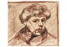 Theo van Doesburg (1883-1931)  -  Zelfportret met pijp, 1905 - Postkaart -  A121752-1